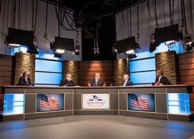 panel of American Religious Town Hall