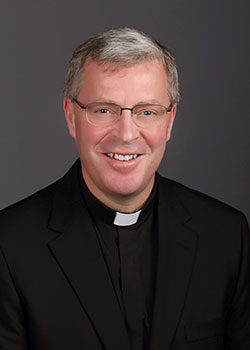 Bishop-elect Austin A. Vetter has local tie