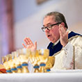 Bishop Olson says the Eucharistic Prayer