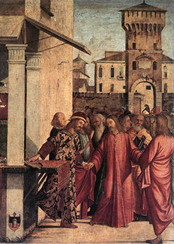 The Calling of St. Matthew by Vittore Carpaccio, 1502
