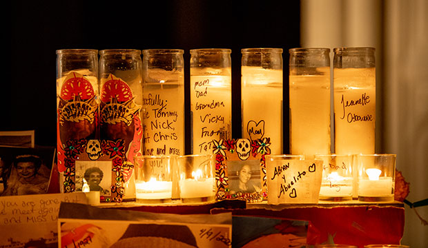 candles for Day of the Dead