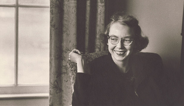 "Flannery O'Connor is seen in this undated photo. ""Flannery,"" a documentary about the life and writings of Catholic writer O'Connor, opens in select virtual cinemas"