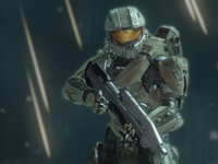 "This is a still from the video game ""Halo 4."" The Catholic News Service classification is A-III -- adults. The Entertainment Software Rating Board rating is M -- Mature. (CNS photo/Microsoft Studios)"
