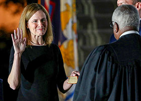 Supreme Court justice Amy Comey Barrett