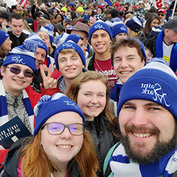St. Mark youth at March for Life