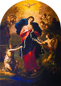 Mary Undoer of Knots by Johann Schmidtner