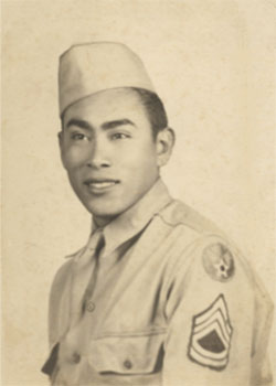 Moses Lopez in 1944