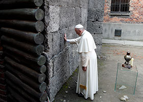Pope at Auschwitz