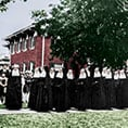 Sisters of Saint Mary of Namur in an undated file photo