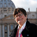 Sister Helen Prejean, a Sister of St. Joseph of Medaille, who has worked in prison ministry and against the death penalty for decades