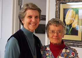 Sister Francesca and Sister Rosemary