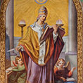 Fresco of St. Gregory