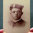 prayer card for Father Augustus Tolton