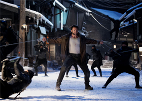 "Hugh Jackman stars in a scene from the movie ""The Wolverine."" The Catholic News Service classification is A-III -- adults. The Motion Picture Association of America rating is PG-13 -- parents strongly cautioned. Some material may be inappropriate for chi ldren under 13. (CNS photo/Fox)"