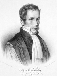 Rene Laënnec, French physician and inventor of the stethoscope.