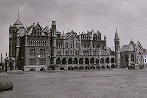 The Ursuline Convent and Academy in Galveston circa 1890. (Courtesy Texas State Historical Association)