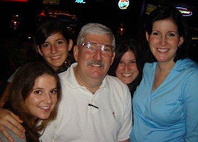 Bob Levinson with family