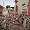 destroyed Immaculate Conception Church in Puerto Rico