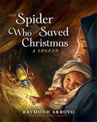 spider who saved christmas book cover