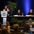press conference for bishops' spring meeting