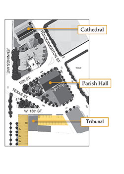 map of new Tribunal office