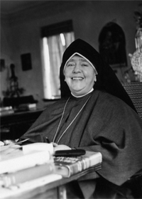 Founder of Maryknoll Sisters chosen to be inducted into the National Women's Hall of Fame in 2013 Mother Mary Joseph Rogers, the founder of the Maryknoll Sisters of St. Dominic, has been named one of nine American women to be inducted in 2013 into the National Women's Hall of Fame. She is pictured in a 1941 photo. (CNS photo/Maryknoll)